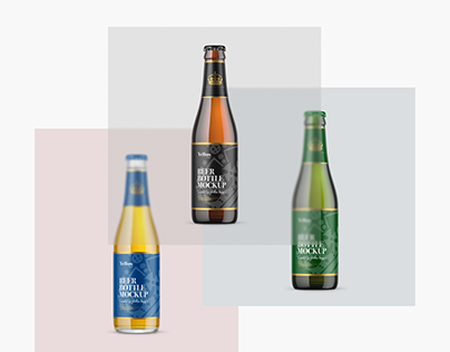 Download Check Out New Work On My Behance Profile Beer Bottles Mockups Psd Http Be Net Gallery 101206969 Beer Bottles Mockups Psd In 2020 Bottle Mockup Bottle Beer Bottle PSD Mockup Templates