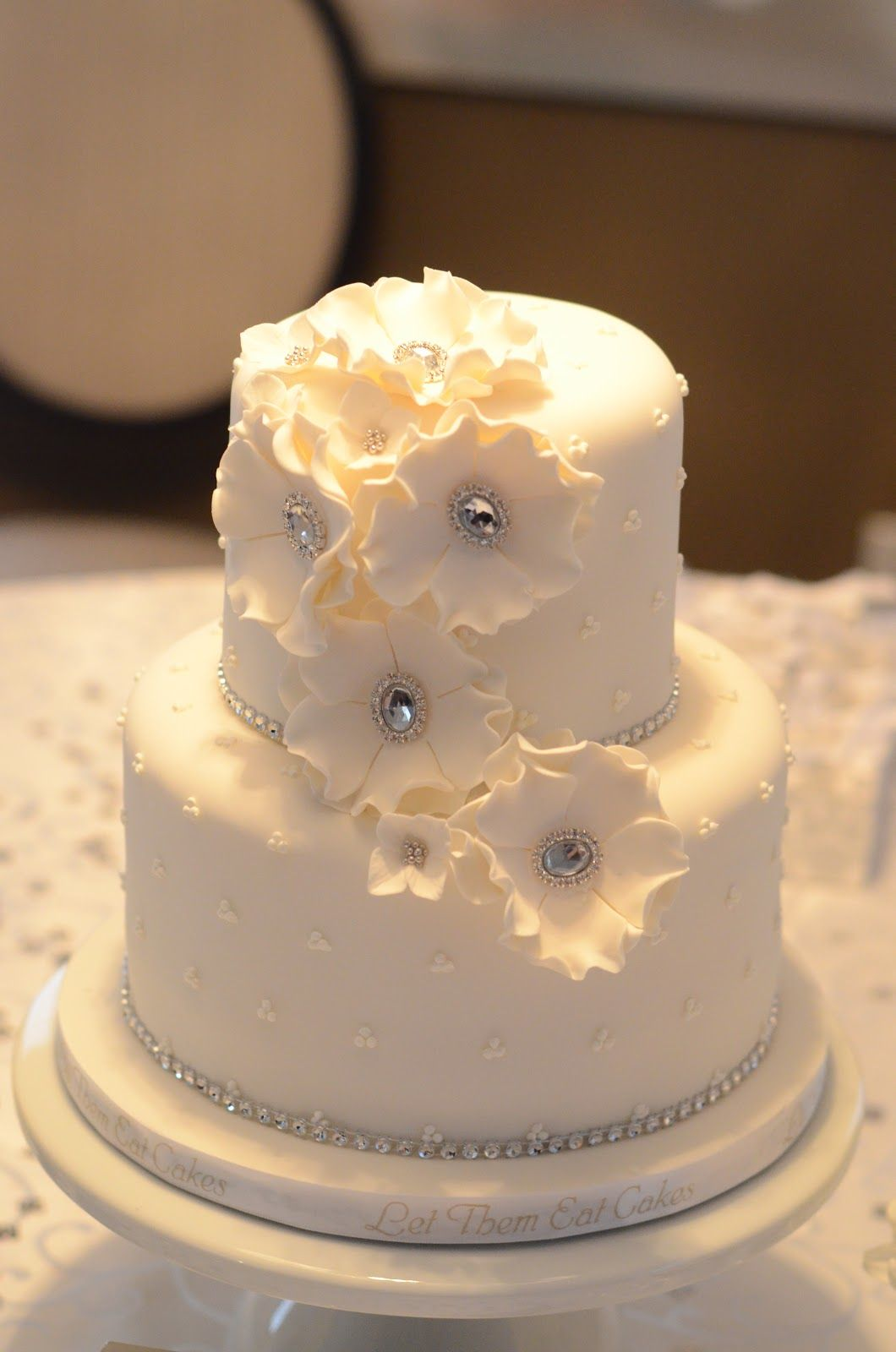 25th Anniversary Sparkle Wedding Anniversary Cakes 60 Wedding
