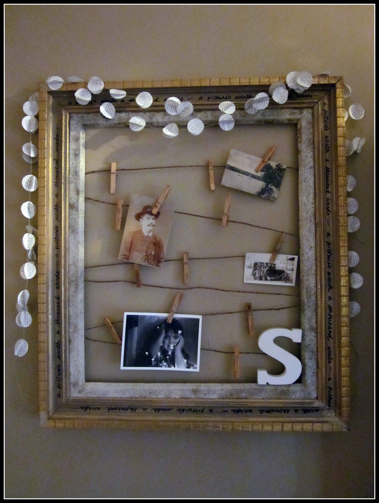 Empty Picture Frame Ideas