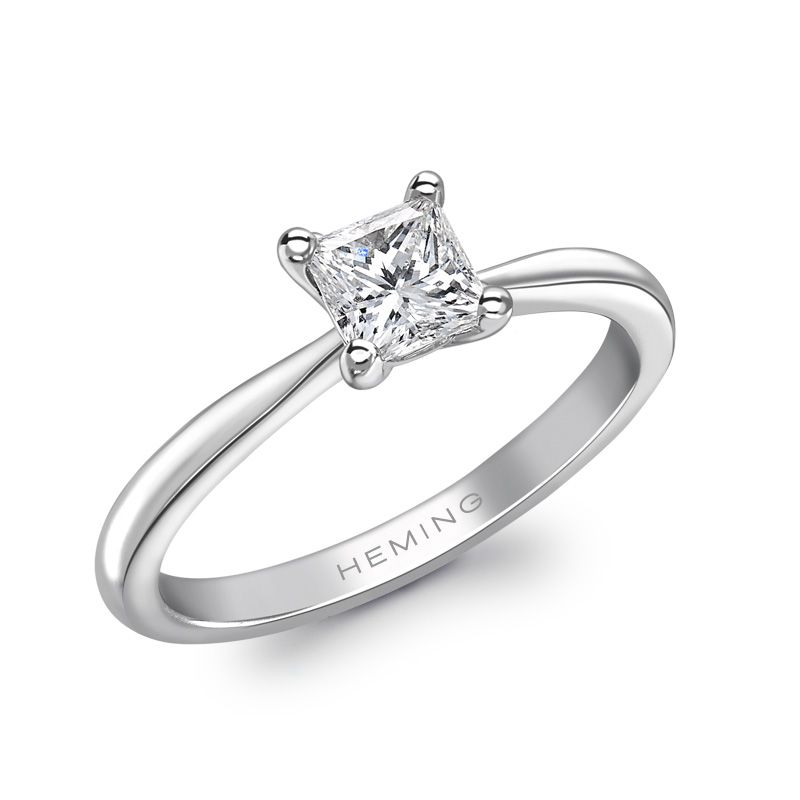 Oxford Collection Diamond Solitaire Ring Engagement Wedding