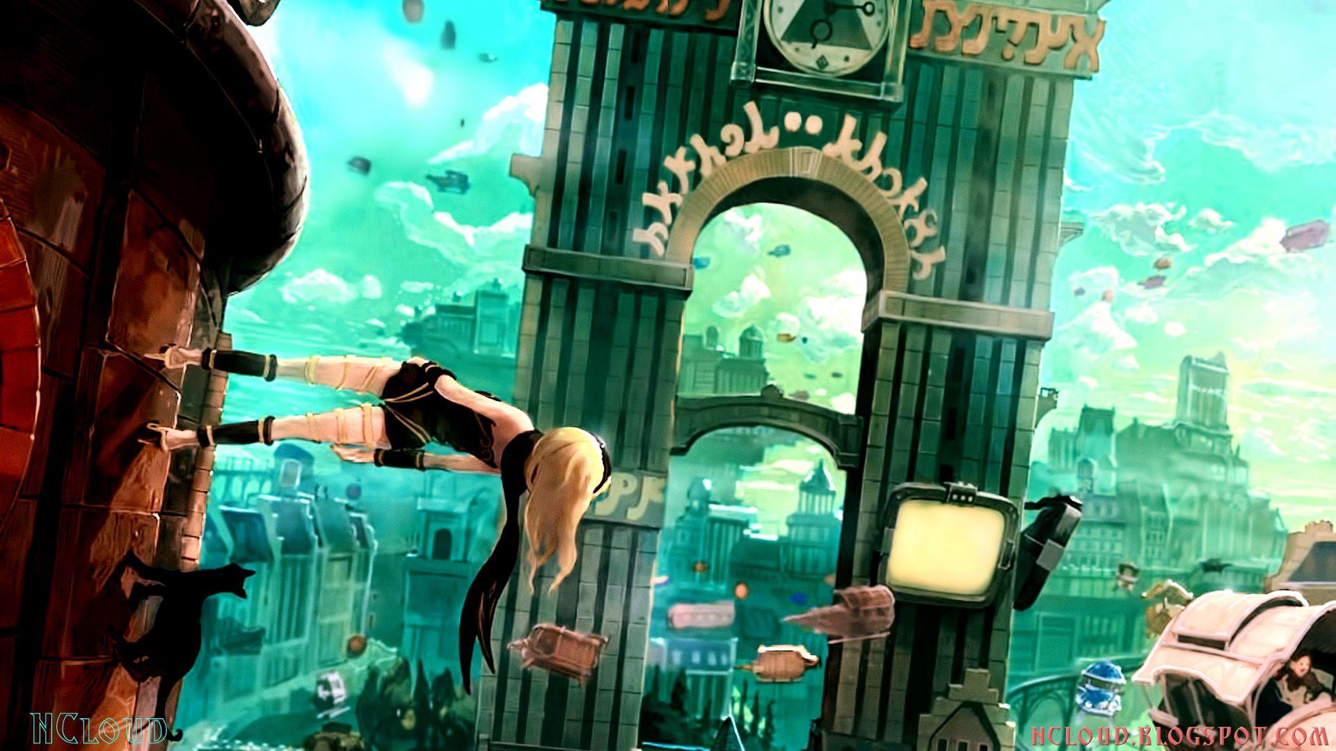 Gravity Rush Ps Vita Rush 2 Ps Vita Wallpaper Anime