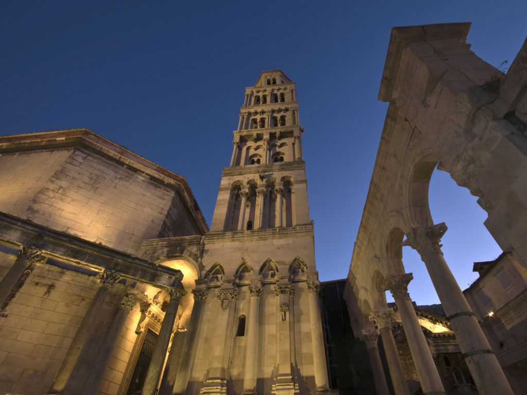Diocletian's Palace was built by the Roman emperor of the same name at the turn of the 4th century in what is now the Croatian city of Split.