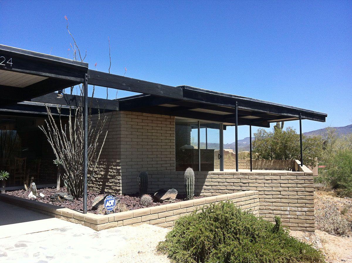 Richert House by Blaine Drake (Cave Creek, AZ). Phoenix