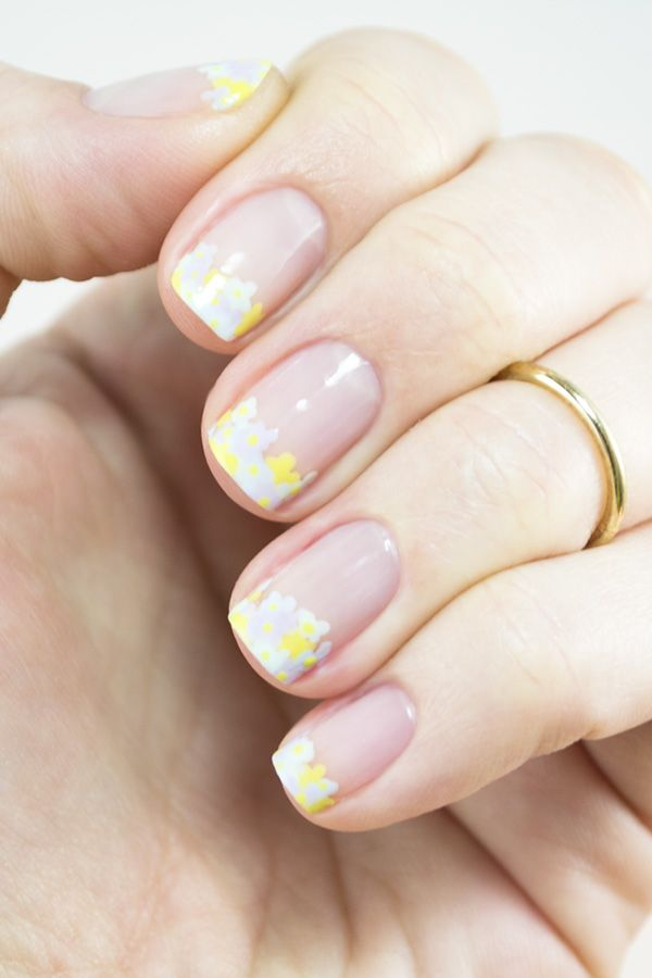 Spring Bouquet: Fresh Floral Nail Art for Your Tips | Nail art ...