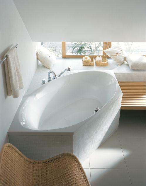Badezimmer Die richtige Wanne für kleine Räume - bauemotionde - badezimmer kleine räume