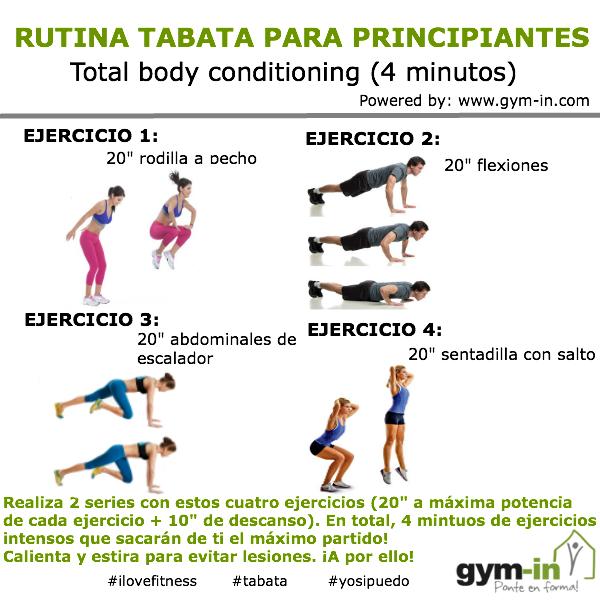 Rutina de ejercicios para bajar de peso en gimnasio power