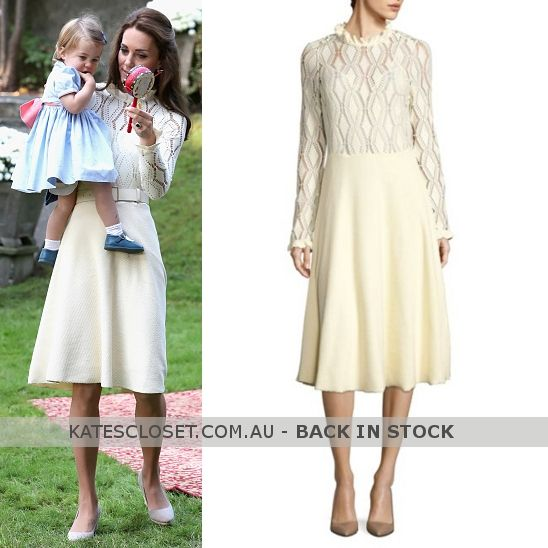 7f47fcf0a9 BACK IN STOCK: See by Chloé Lacy Jersey Long Sleeve Dress. Click to ...