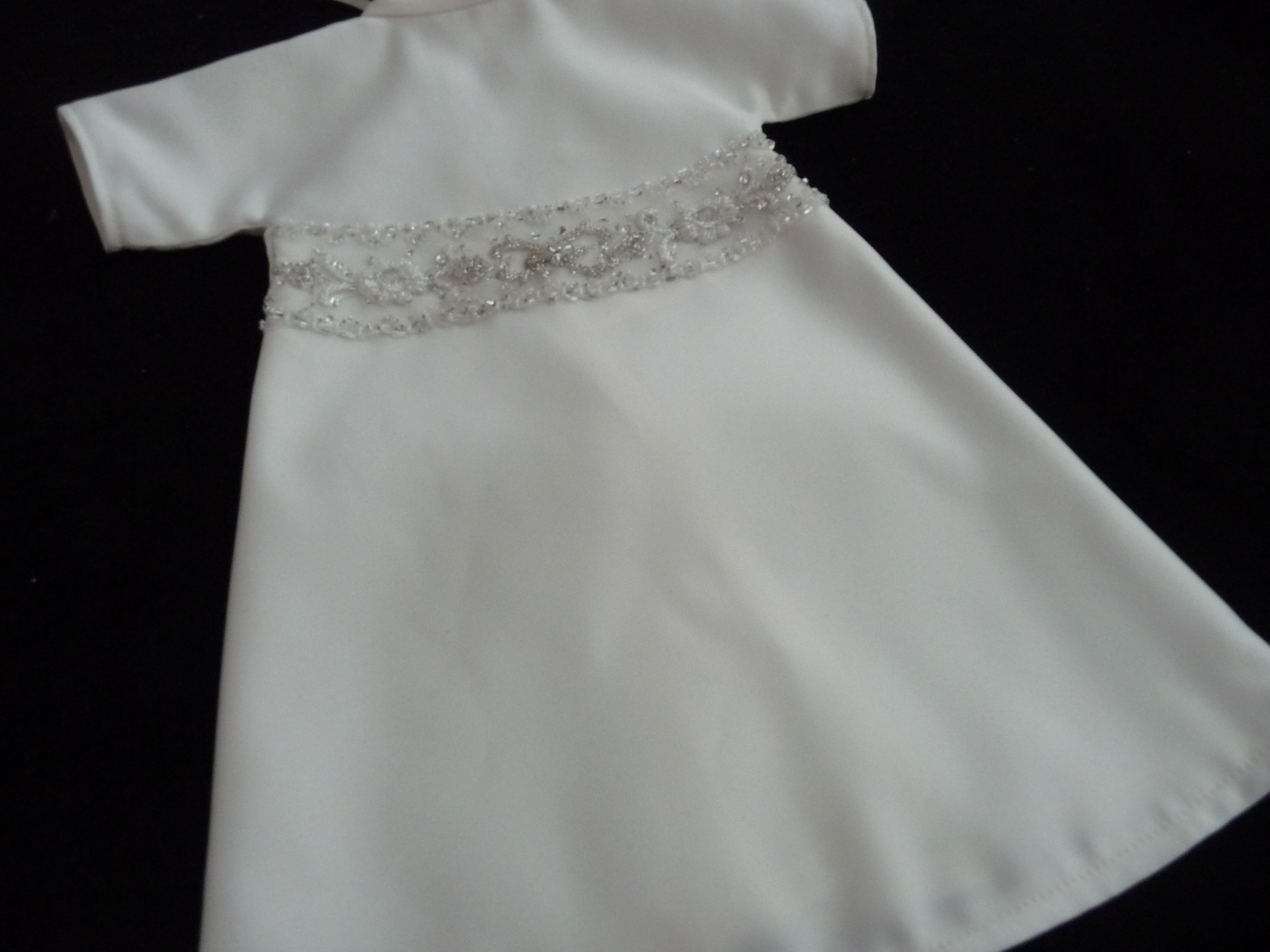 Angel gown with heavily embellished panel. | Angel gowns by Lynette ...
