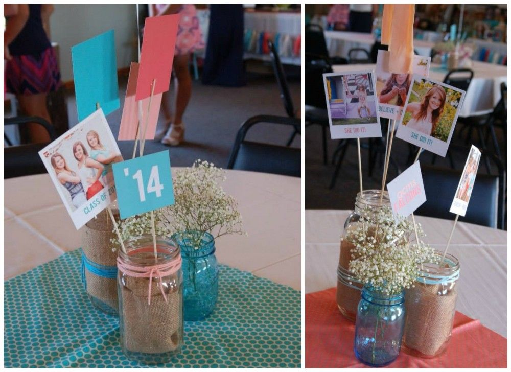 Mason Jar Party Decorations Graduation Party Ideas From A Recent Featured Favorite  Unique