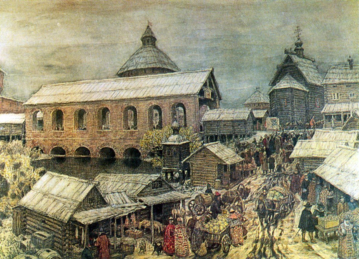 Золотой свадьбой, картинки 17 века в россии