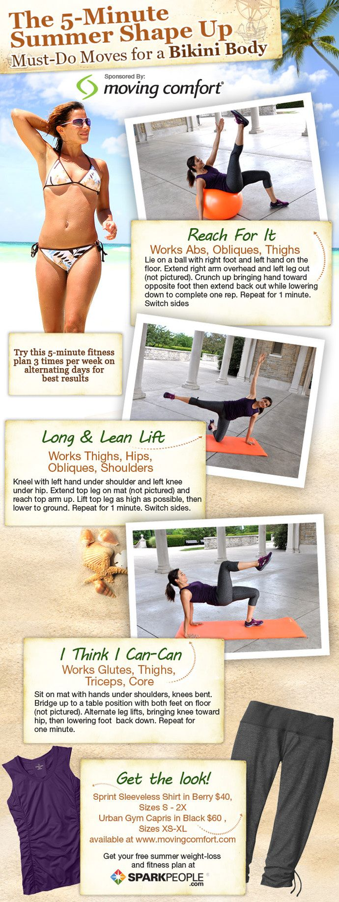 minutes a day to a summer body pinterest body exercises