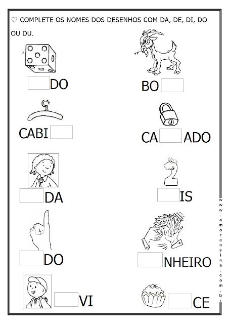 Notebook Da Profª Atividades Letra E Atividades Alfabetizacao