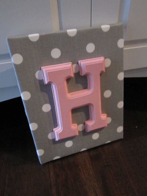 Wall Canvas Letters Nursery Decor Wooden Personalized Art Pink Chevron On Etsy 11 65