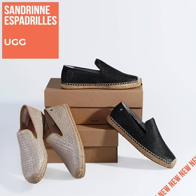 e4bc5903774 SANDRINNE ESPADRILLES UGG for Chic Comfort! The Ultimate Spring Must-Have !!