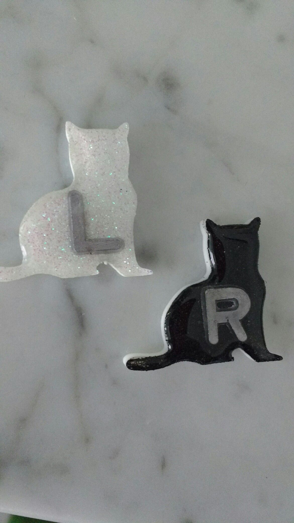 Cute cat XRay Markers made at Rad tech