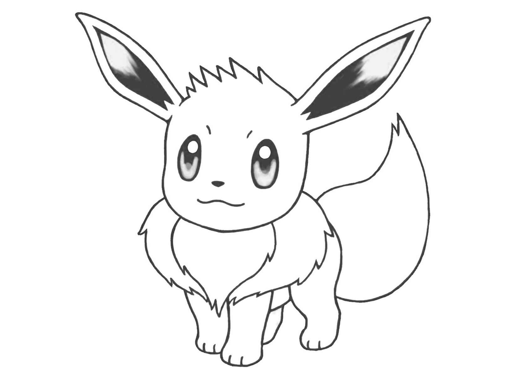 Eevee Coloring Pages Pokemon Coloring Pokemon Coloring Pages Animal Coloring Pages