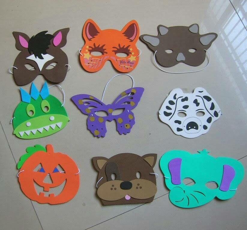 Okul Oncesi Maske Alinti Okul Maskeler Elisi Fikirleri