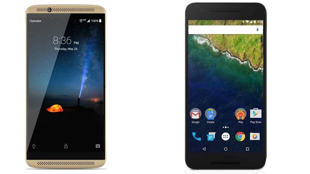 ZTE Axon 7 vs Google Nexus 6P Subscribe! http://youtube.com/TechSpaceReview More http://TechSpaceReview.tumblr.com