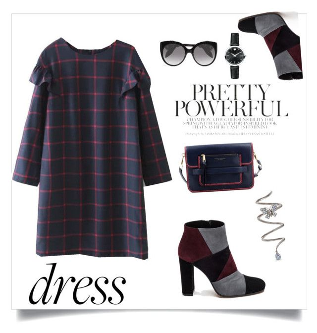 """""""Untitled #118"""" by azbie ❤ liked on Polyvore featuring Roberto Festa, Marc Jacobs, Alexander McQueen and Movado"""