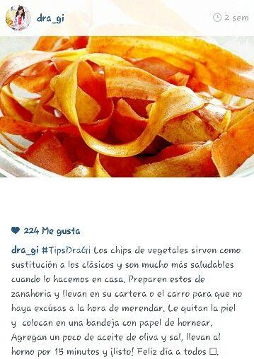 Chips De Vegetales Food Snack Recipes Snacks