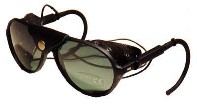 4f4e6615ca Sunglasses with Leather Side Shields