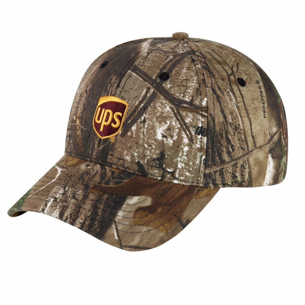 ce8367f1b98a1 UNITED PARCEL SERVICE UPS REAL TREE CAMO CAP HAT ( NEW ) Adjustable 100%  Cotton  fashion  clothing  shoes  accessories  mensaccessories  hats (ebay  link)