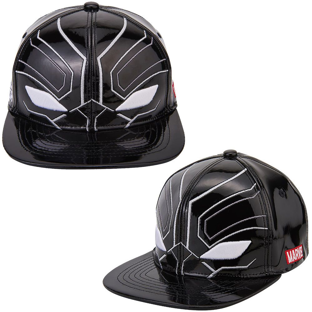 Mens Womens Marvel Avengers Civil War BLACK PANTHER Mask Baseball Snapback  Hats  Marvel  BaseballHiphopHatCap 7b7c506fdc4f