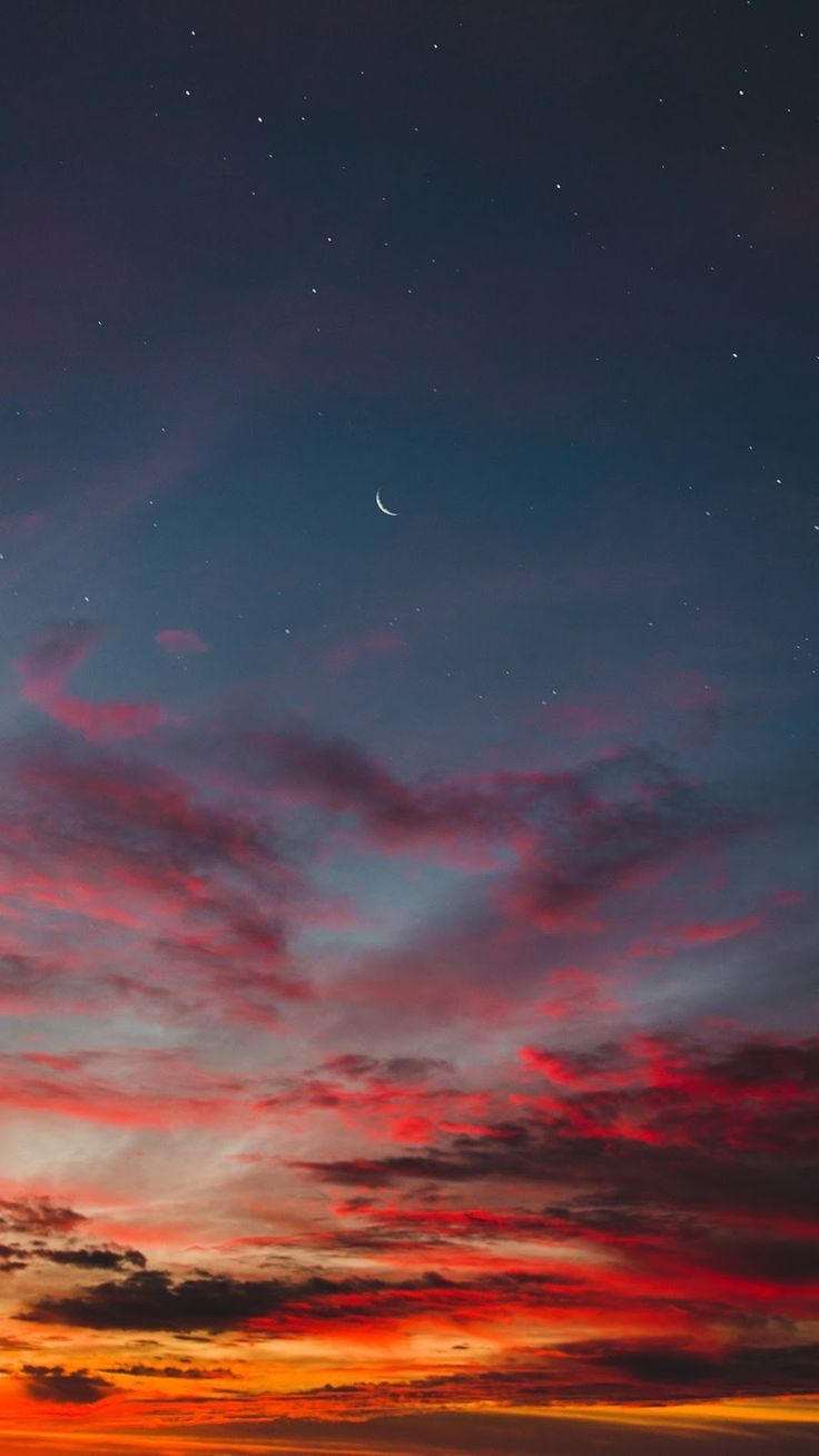 Red Cloud In The Night Sky Great Pretty Wallpapers Nachthimmel Wolken Hintergrund Sonnenuntergang Tapete