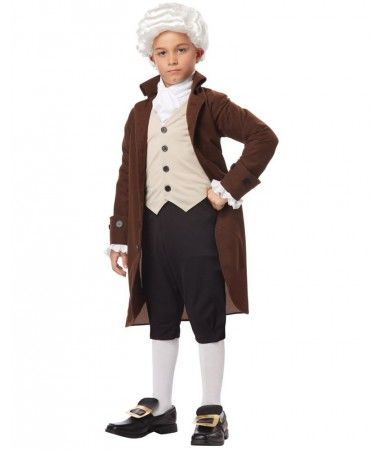 California Costumes Colonial Man/Benjamin Franklin Child Costume X-Large  sc 1 st  Pinterest & Colonial Man Boys Costume | Australian Colonial | Pinterest | Costumes
