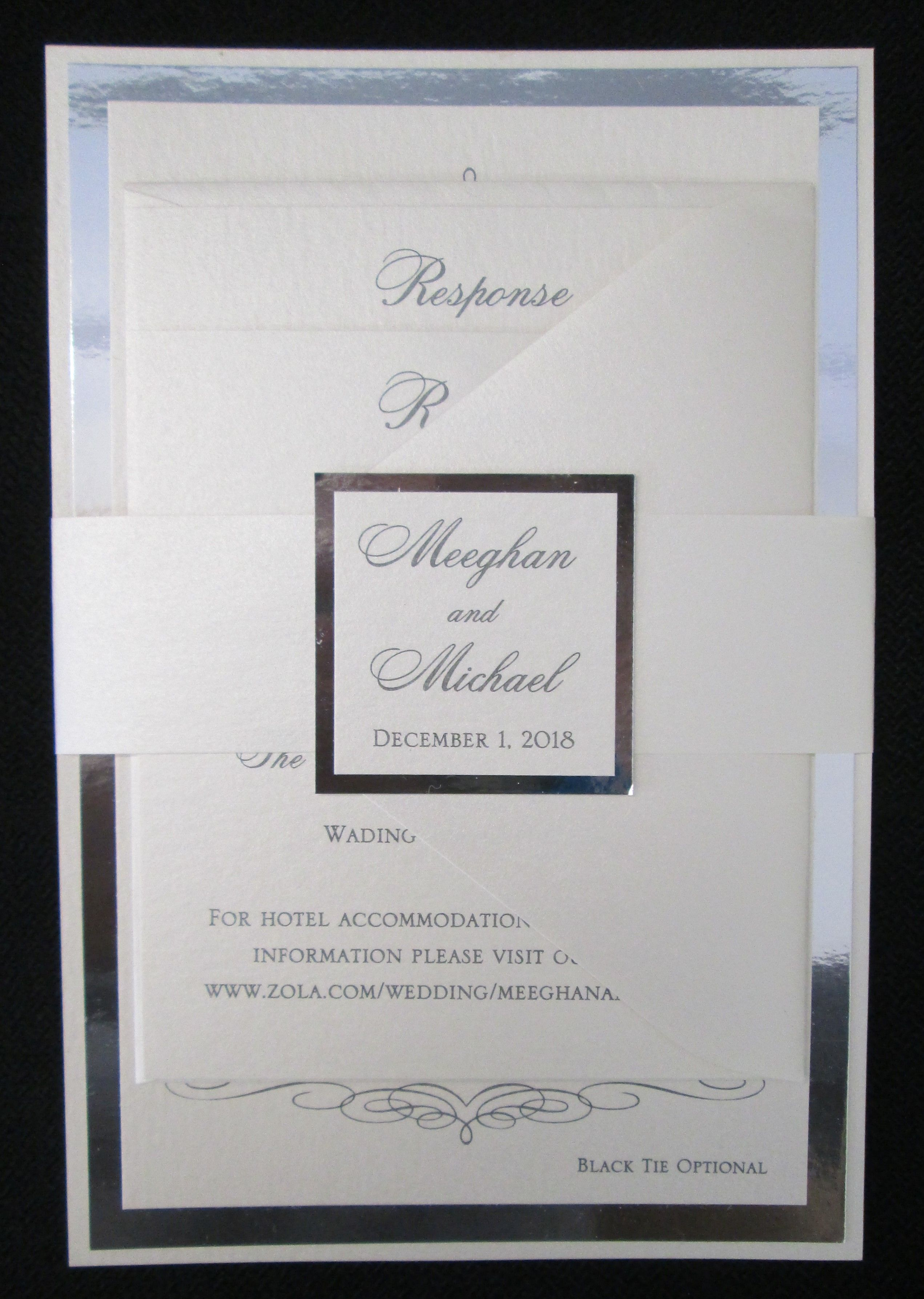 Multi Layer Wedding Invitation With Paper Band And Tag Making Invitations Day: Pi Day Wedding Cards At Websimilar.org