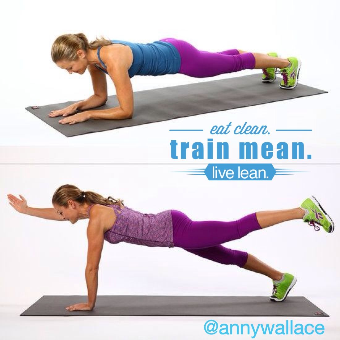 Plank Challenge Day 5 #plank #fitness #p90x3 #workout www.annywallace.com