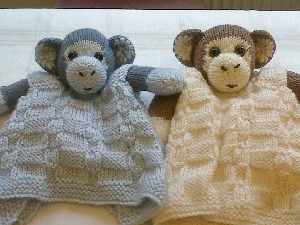 Monkey Buddy Comfort Blanket | Monkey, Blanket and Patterns