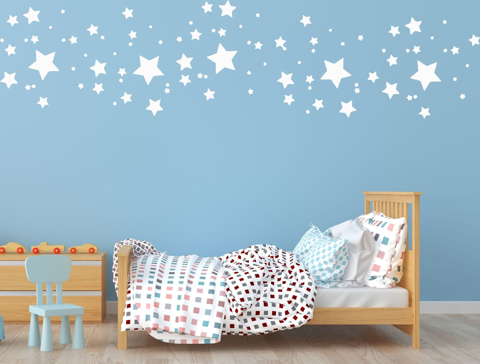 Stars Constellation Wall Decal Sky Wall Sticker Space Wall Art C11
