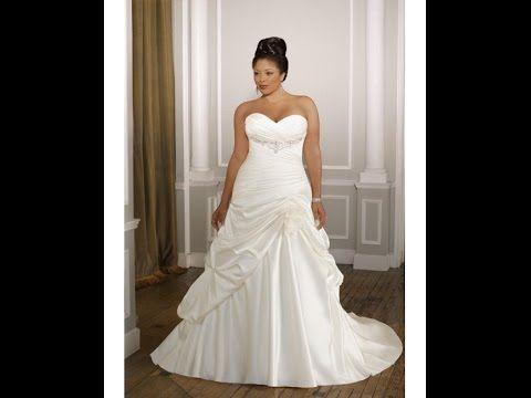 40 vestidos de novia tallas grandes bonitos y modernos 2015   bodas ...