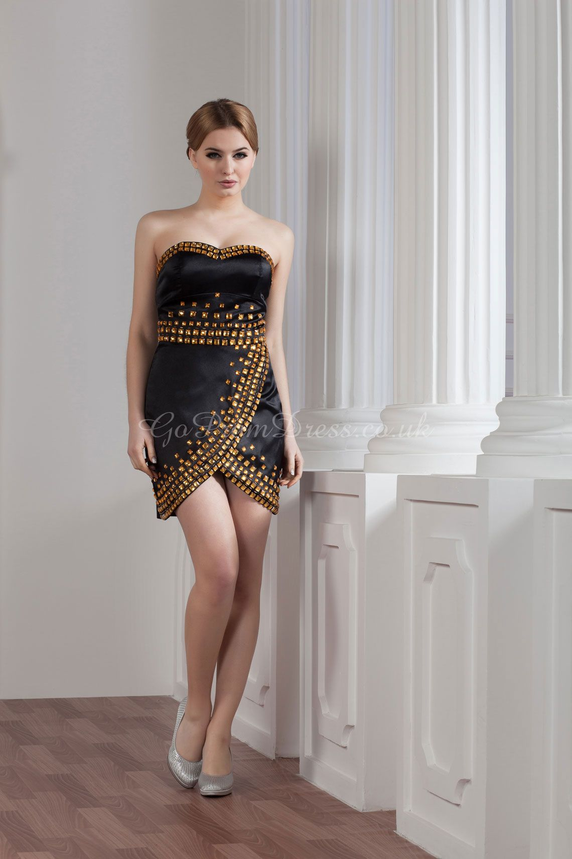 Cocktail dress cool design gold and black clothes pinterest