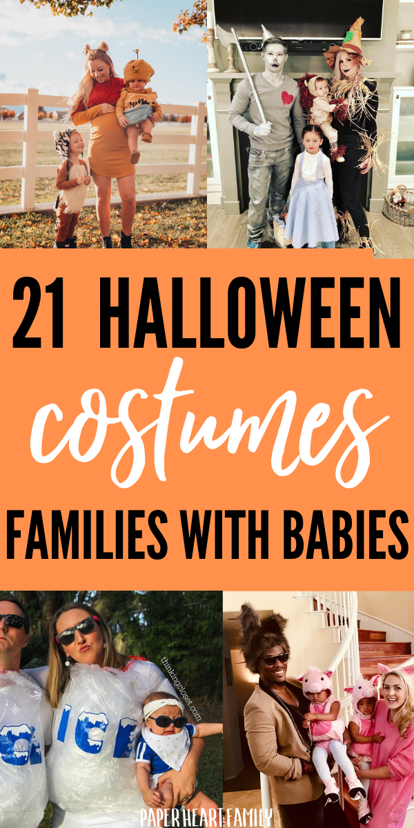 Family Halloween Costumes With A Baby- 21 Ideas |