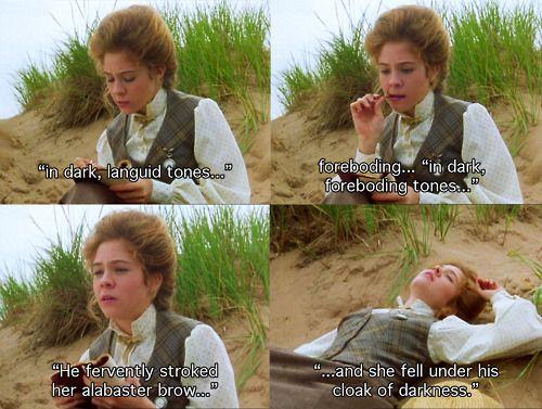 Hahaha!  Anne of Avonlea