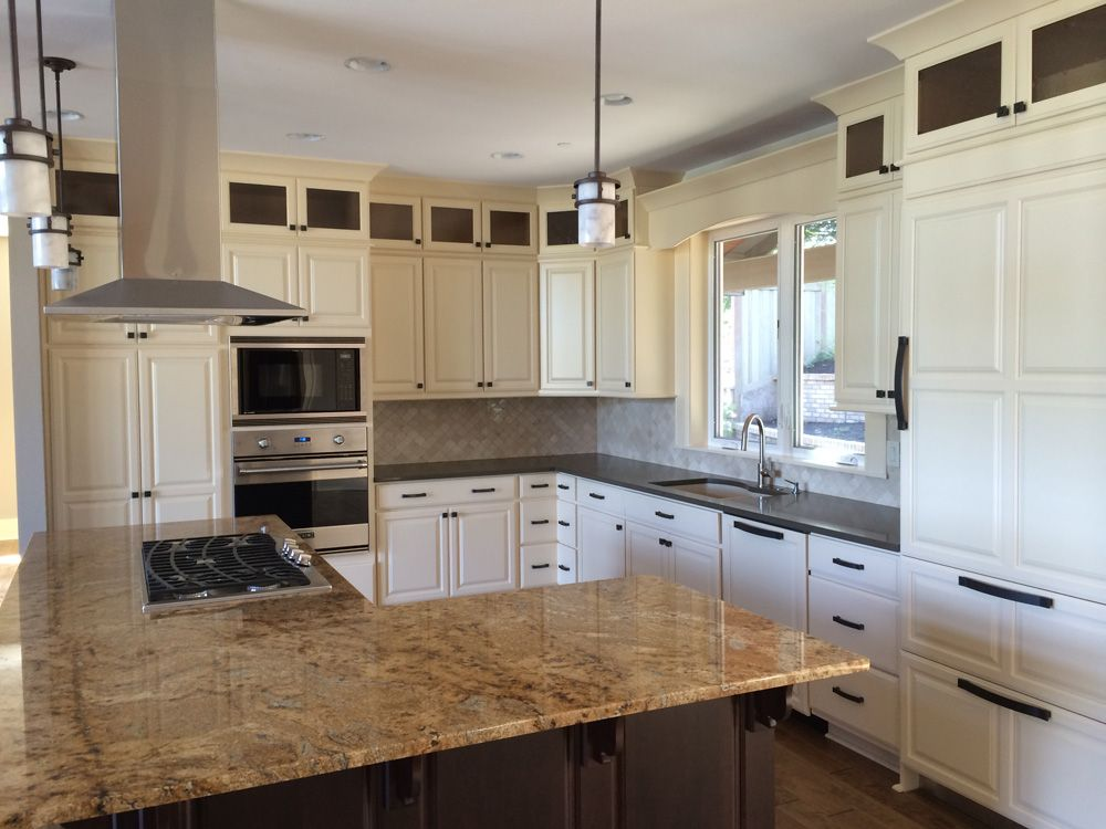 A kitchen featuring Huntwood cabinets   Kitchen   Pinterest ...