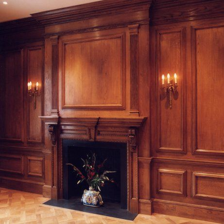 architectural joinery, oak panelling - stuart interiors | formal