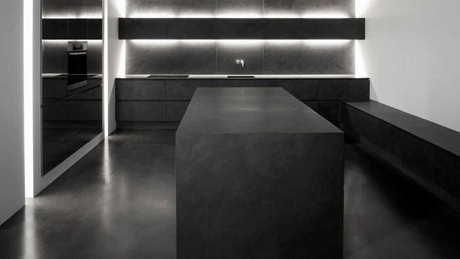Black is black stone slate kitchen kitcHen Pinterest Slate - next line küchen