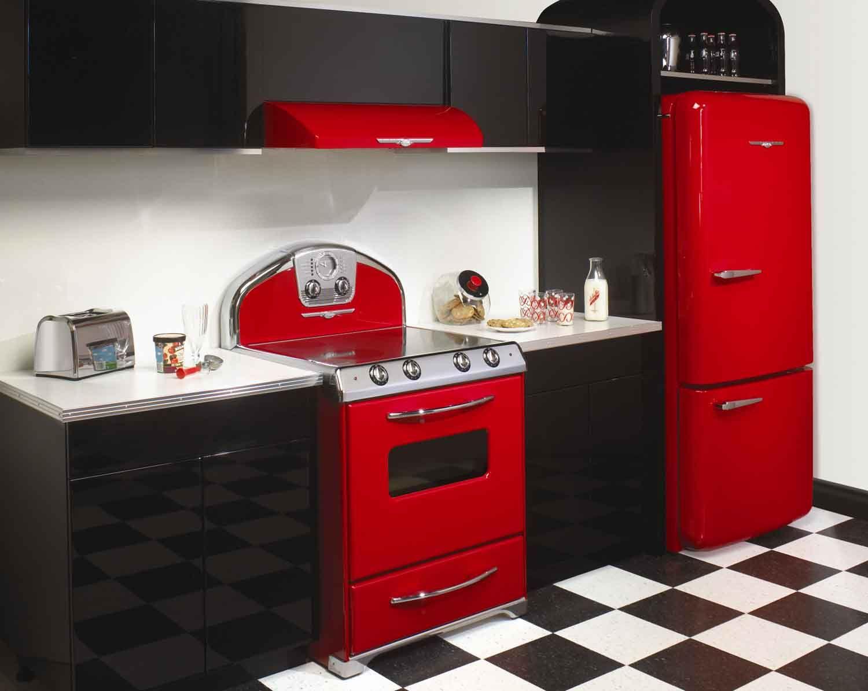 Modern Take On 50 S Kitchen Retro Appliances Modern Kitchen