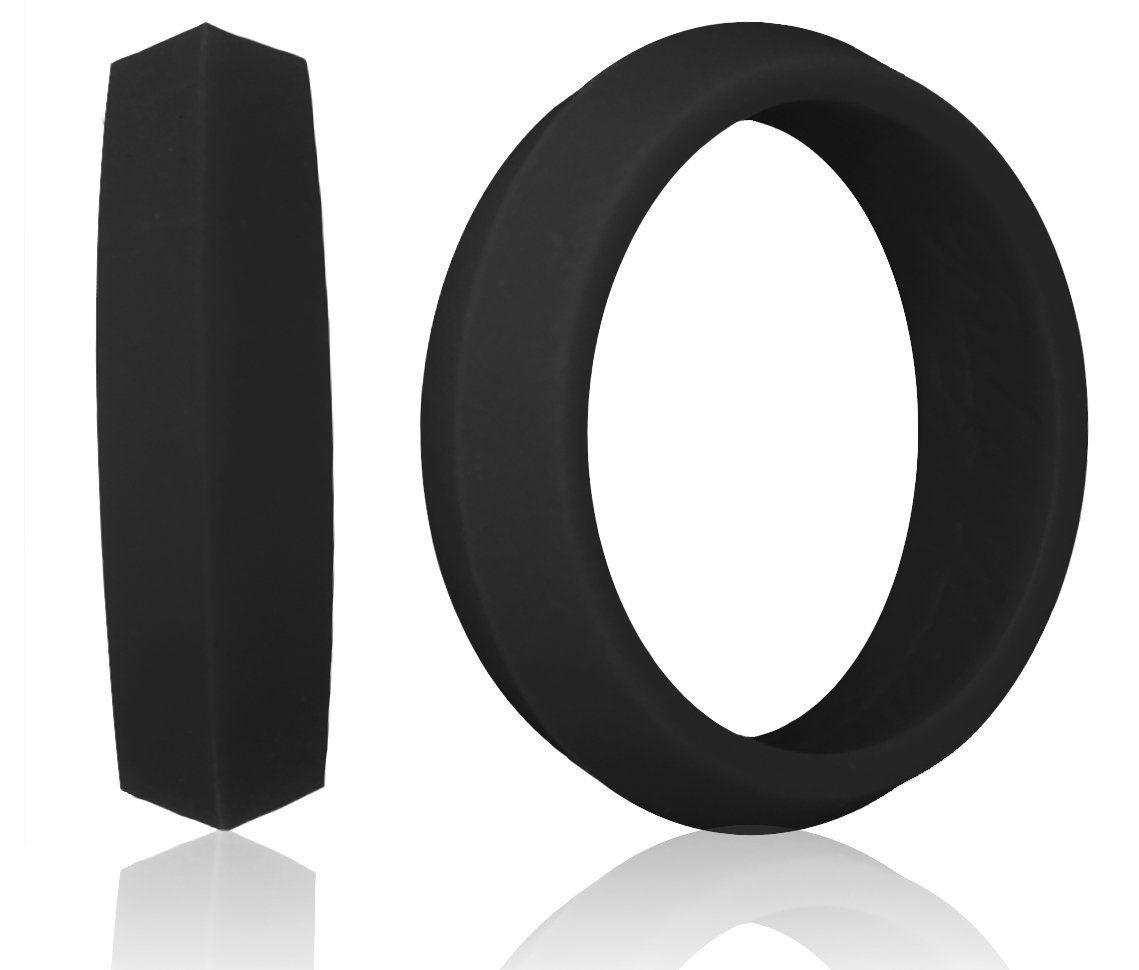 black k-edge silicone wedding ring amazon : knot theory
