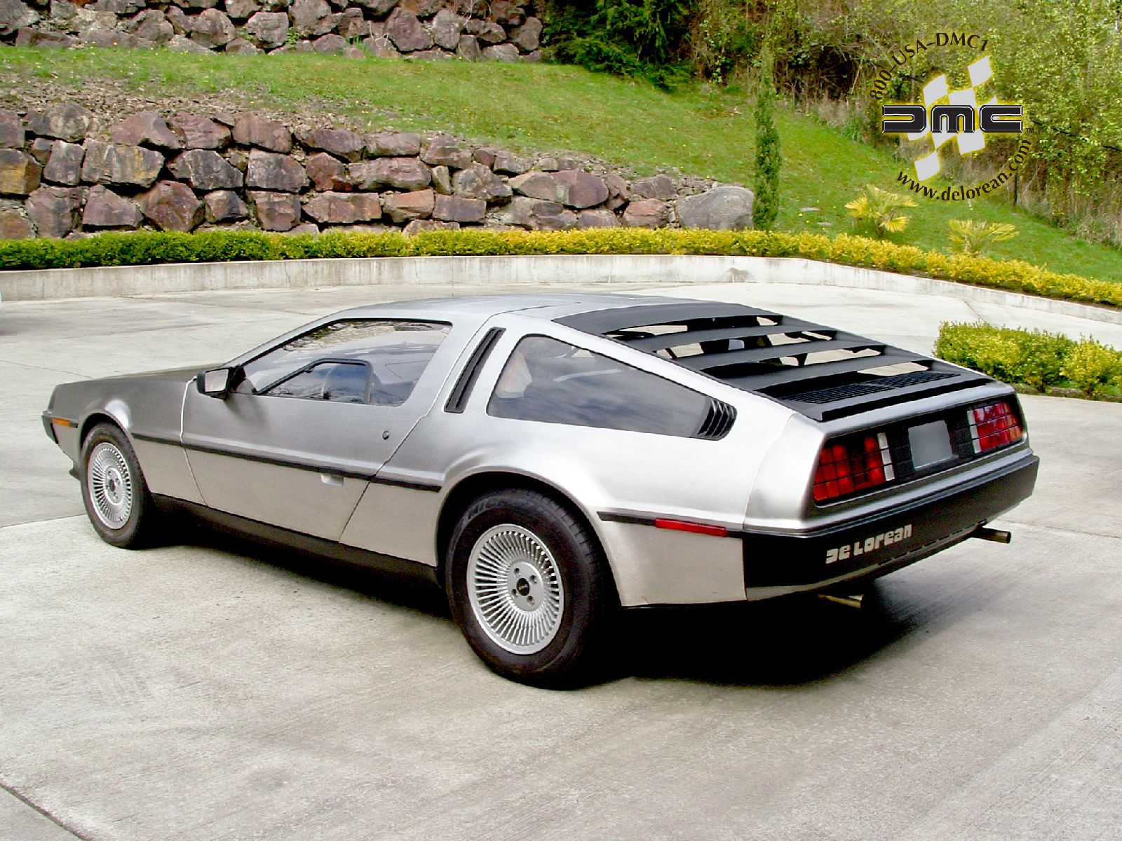 Used to dream about having one of these: Delorean