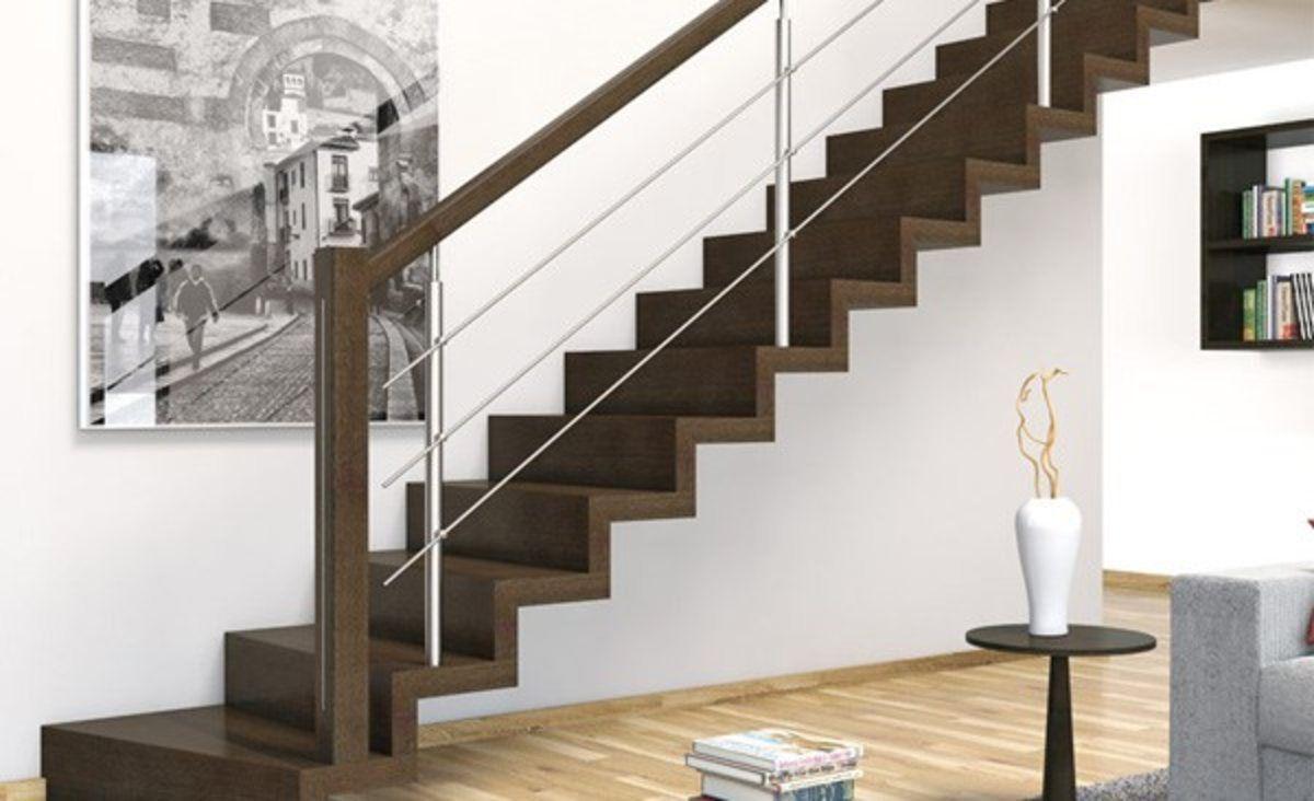 Resultado de imagen de barandillas para escaleras suelo madera