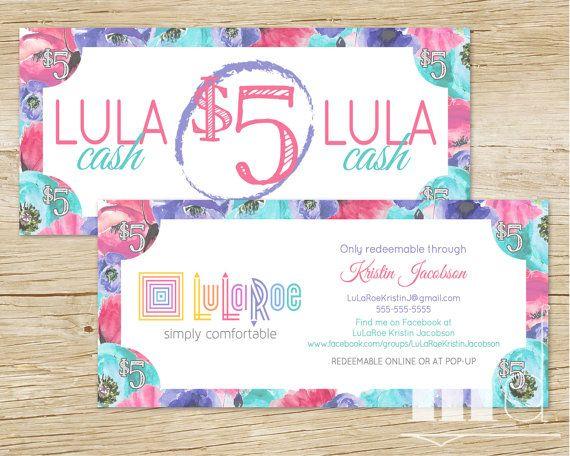 LuLaRoe Cash / LuLaMoolah / LuLa Moolah / LuLa Money / LuLaRoe Gift Card Or  Gift