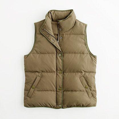 J Crew Factory   Factory Puffer Vest