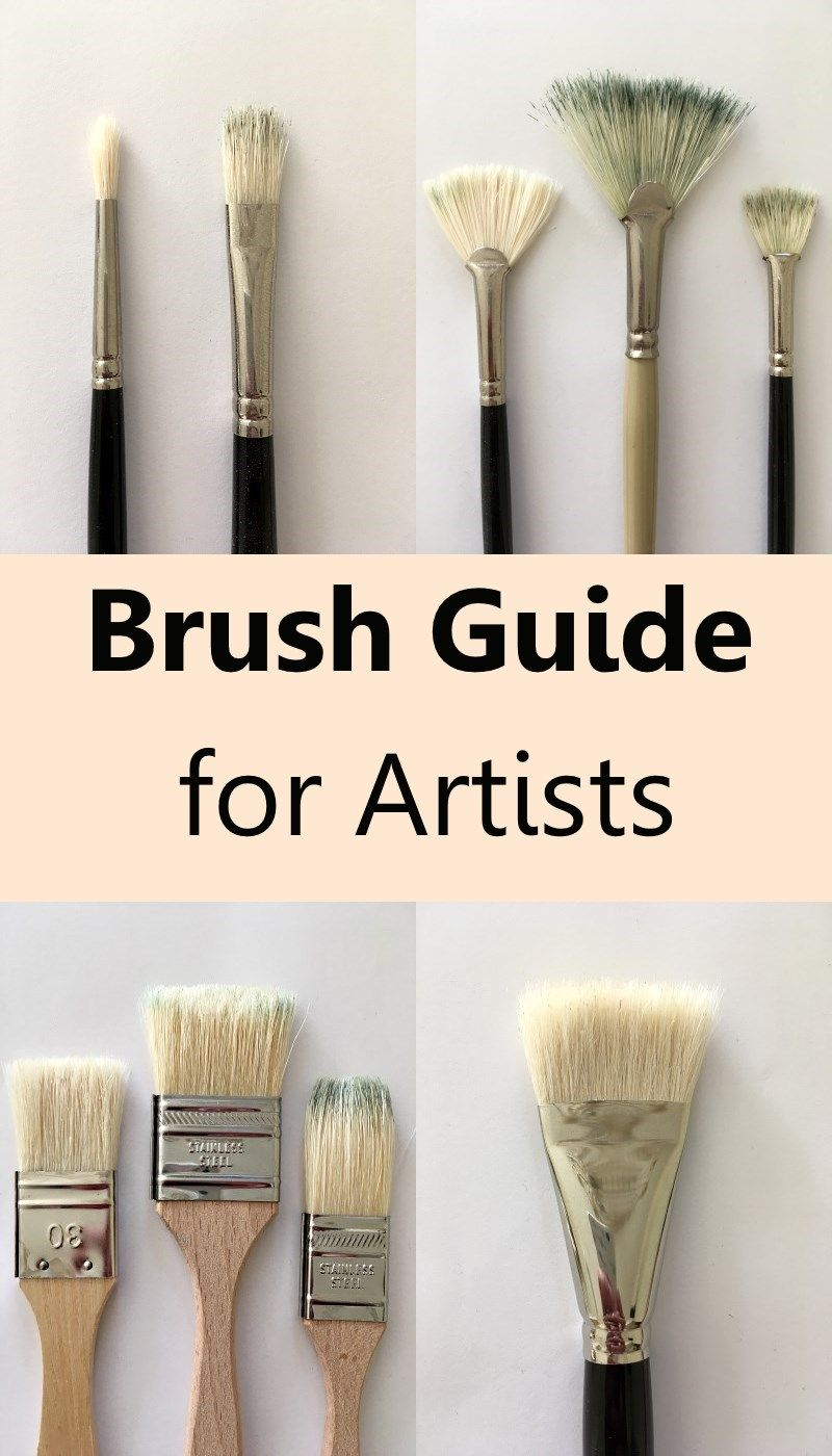 Types Of Oil Painting Brushes Fine Art Painting Oil Oil Painting Techniques Art Painting Oil