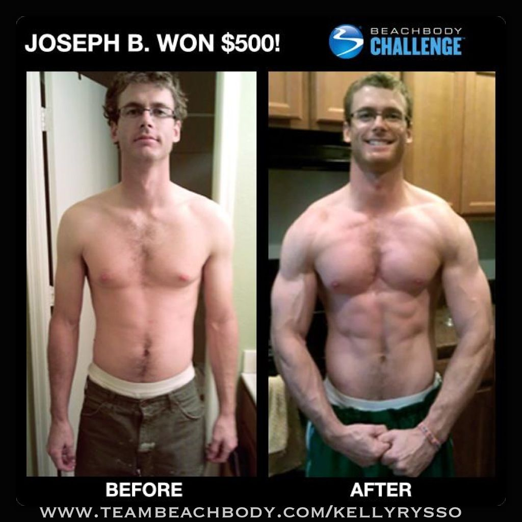 Joseph Got Big Amp Buff With P90x Body Beast And