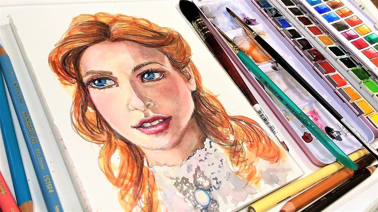 Portrait Of A Victorian Lady Real Time Tutorial Youtube