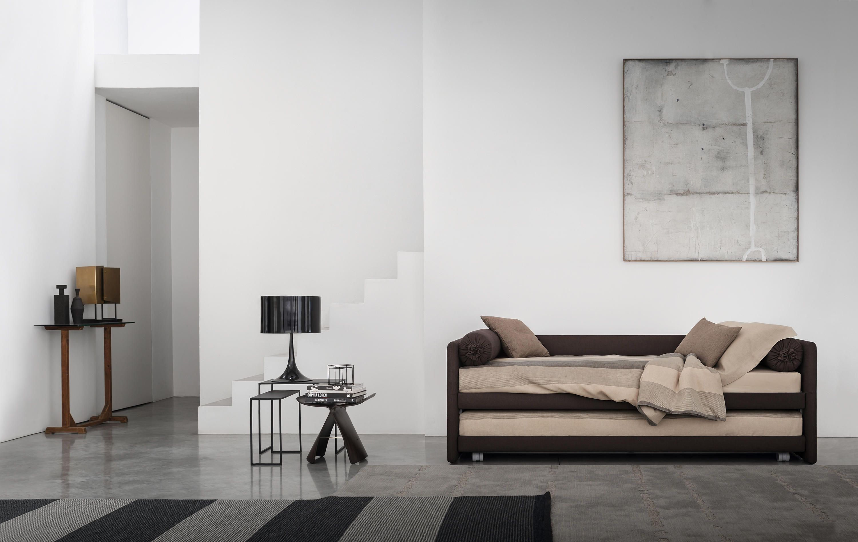 Fabulous Duetto Bed By Flou Single Beds Interior Design Daybed Beutiful Home Inspiration Papxelindsey Bellcom